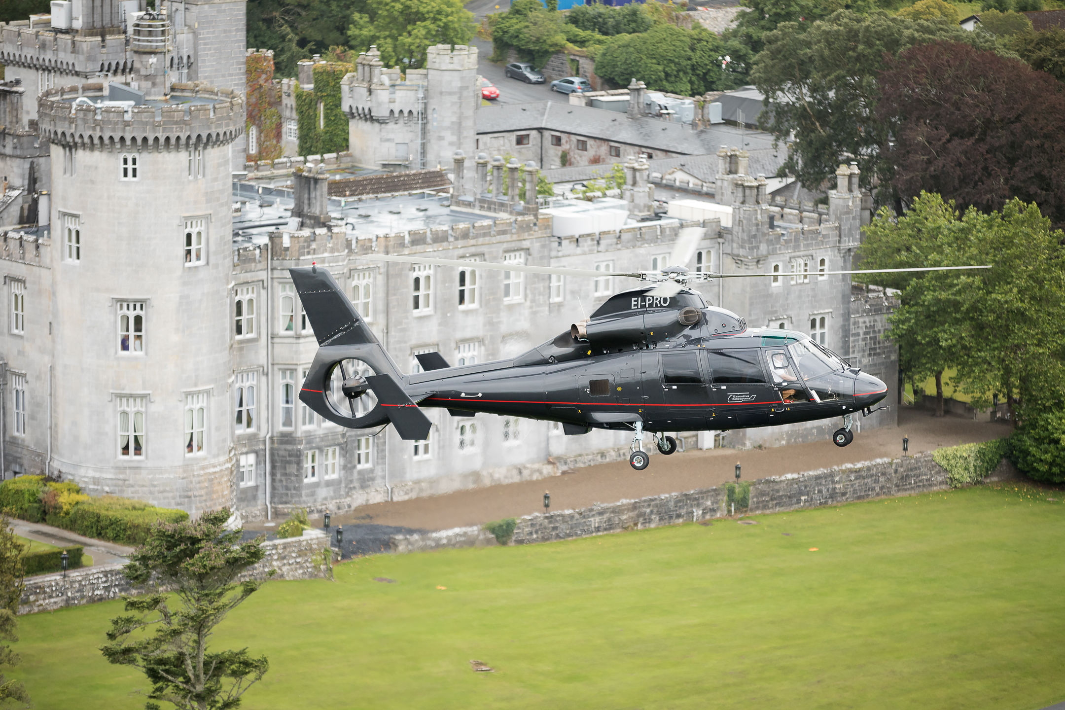 Adare Manor Hotel Helicopter Charter