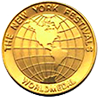 The New Yorks Worlds Festival Medal