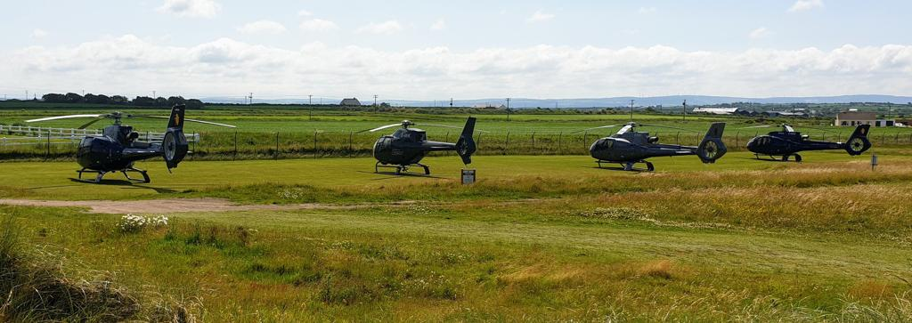 Ballybunion golf links, Helicopter Rides, Group Booking, Executive Helicopters