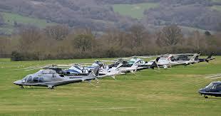 Cheltenham helicopters helipad