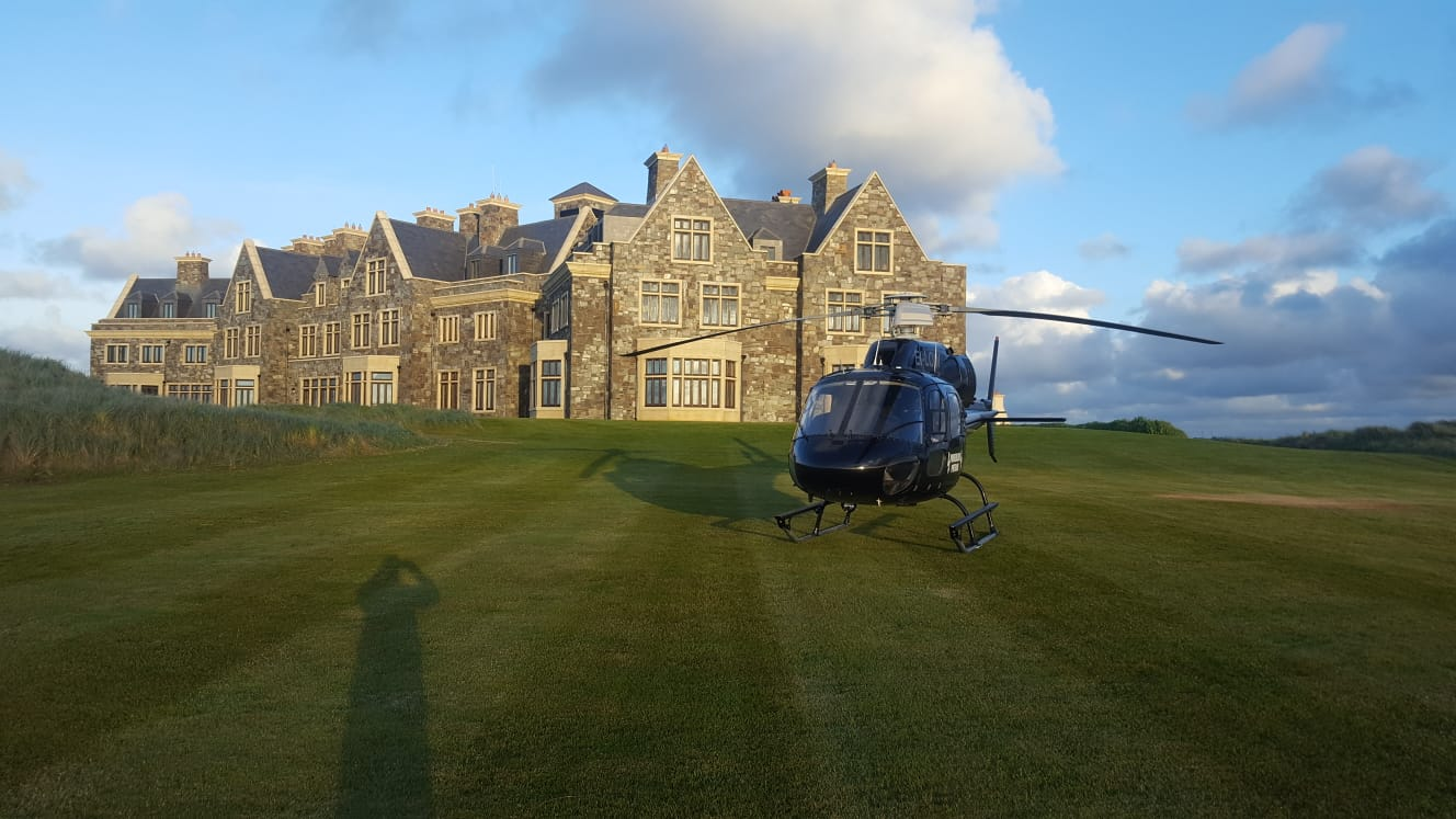 Doonbeg Trump International Resort & Hotel passenger charter ireland