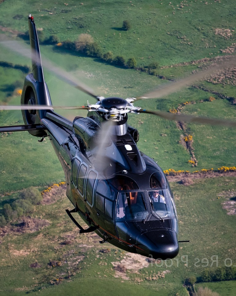 EC155 12 Passenger Twin engine helicopter